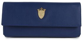 Styler King  Women Royal Blue Artificial Leather Wallet  (9 Card Slots)
