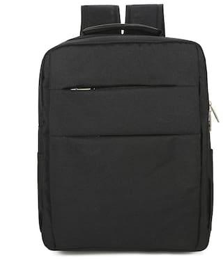Stylesh Nylon Black Laptop Backpack