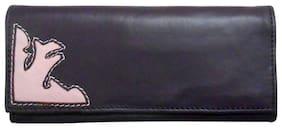 Stylogy Women Leather Wallet - Purple