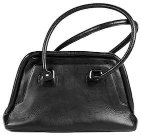 Stylogy Big Apple 1 Black Leather Hand Bag