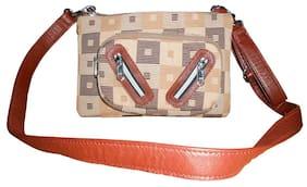 Stylogy Women Solid Wool - Sling Bag Brown