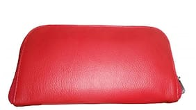 Stylogy Women Leather Wallet - Red