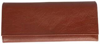 Stylogy Women Leather Wallet - Brown