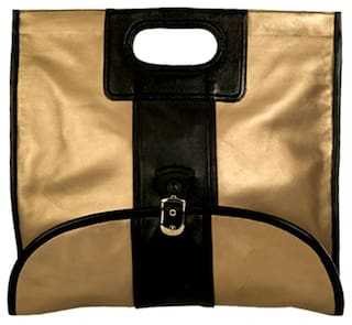 Stylogy Women Solid Leather - Tote Bag Brown
