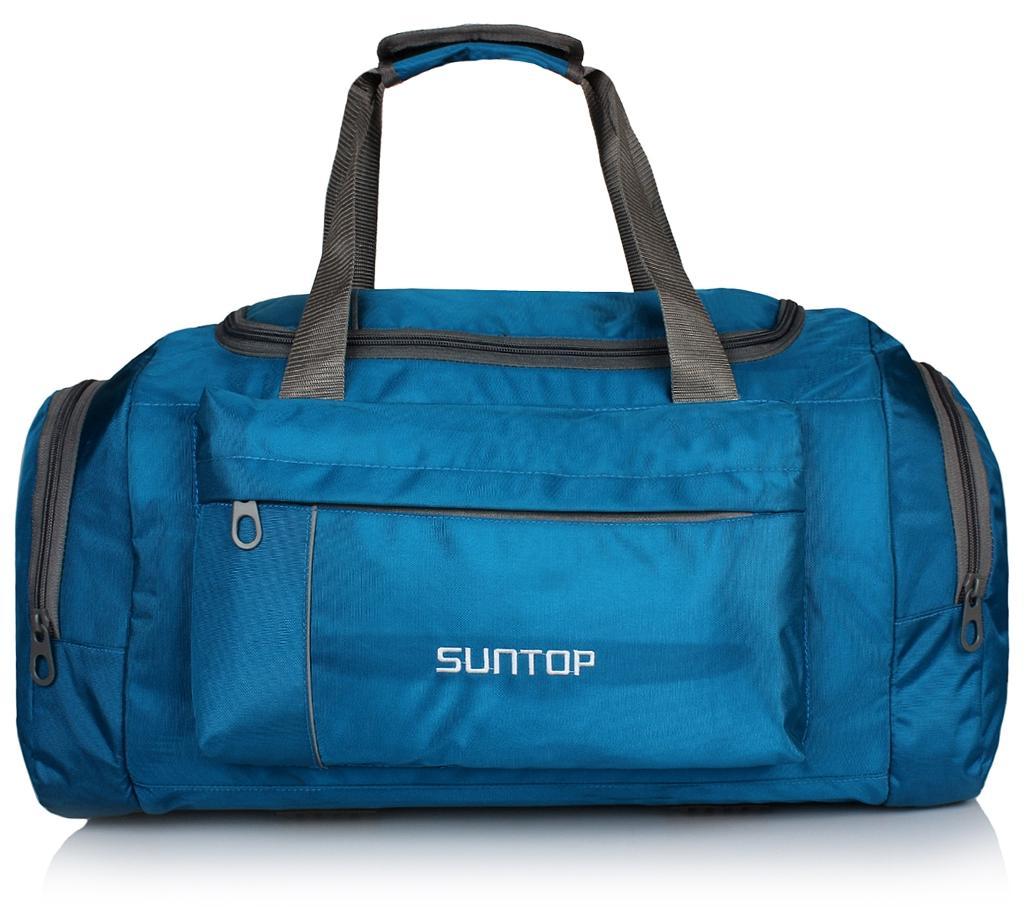 d51bdf81704f https   assetscdn1.paytm.com images catalog product . Suntop Alive  Turquoise Blue Nylon polyester 40 Litres 20 Inch Travel Duffel Bag