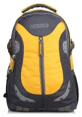Suntop Grey Nylon Backpack