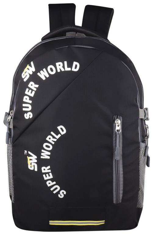 SUPER WORLD Stylish Backpack Waterproof Laptop Backpack
