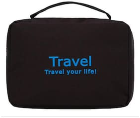 SWADEC hanging toiletry travel bag organizer BLACK
