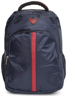 Swiss Eagle Black Polyester Backpack