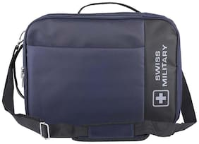 Swiss Military 3 in 1 Office Backpack / Hand / Sling Bag Blue (LB7)