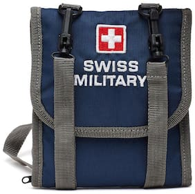 Swiss Military Blue Passport Wallet (TW5)