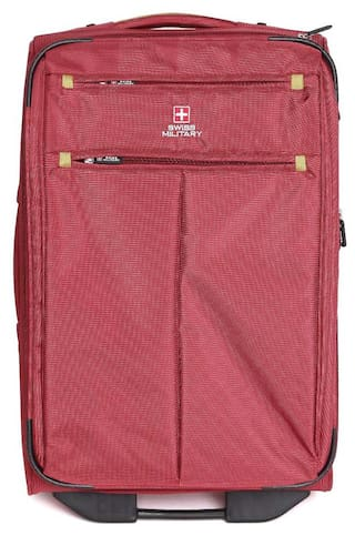 4cca37f52 SWISS MILITARY POLYESTER SMALL Size 50.8 cm (20 inch) TRAVEL LUGGAGE (TL2)