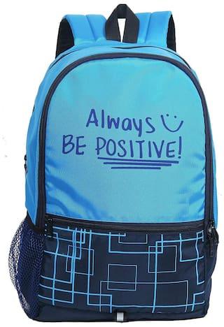 SWIZZ FASHION Bag Pack Medium (18-19 inches) Waterproof Laptop Backpack - Blue