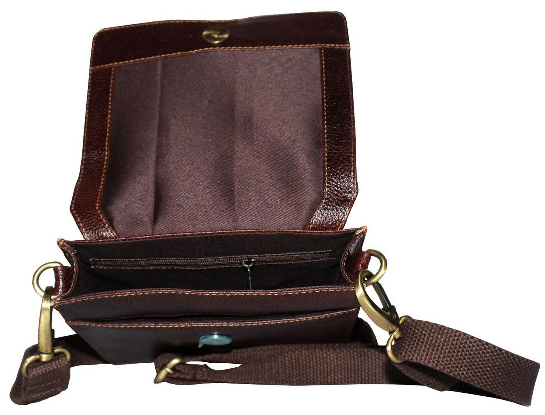 Buy Tamanna Leather Men Sling Bag - Brown Online at Low Prices in India -  Paytmmall.com d39afcdc828f7