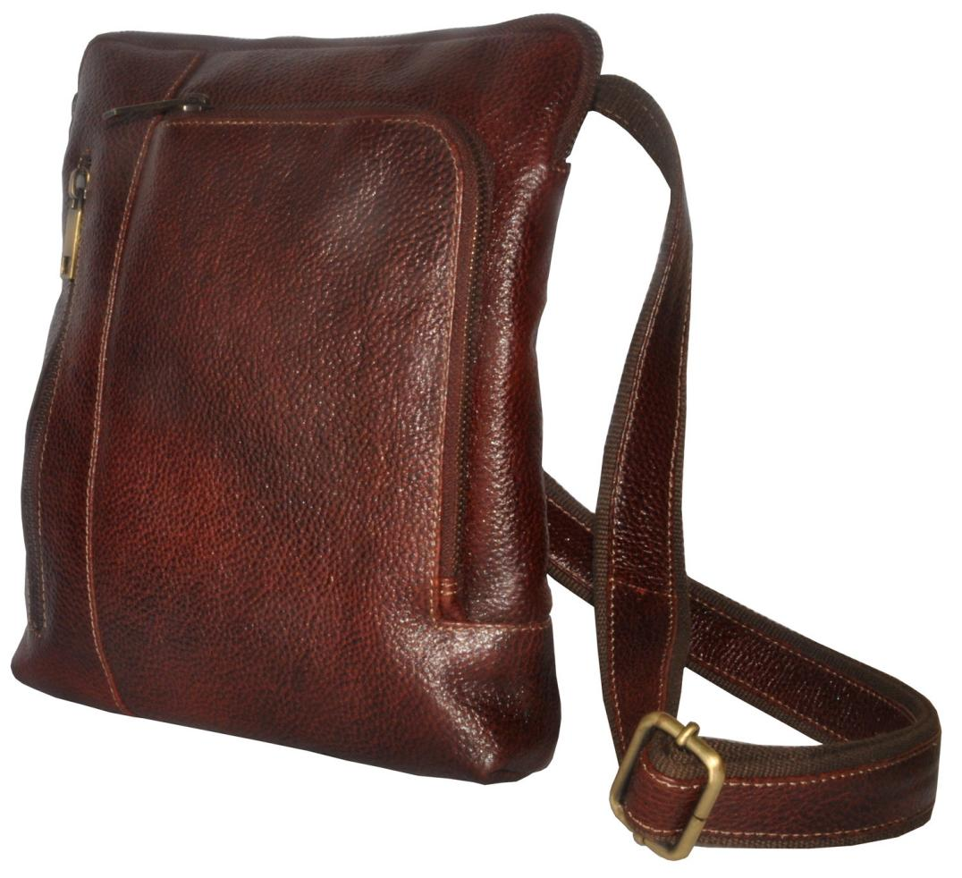 Buy Tamanna Men   Women Brown Genuine Leather Sling Bag Online at Low  Prices in India - Paytmmall.com c716631840ff9
