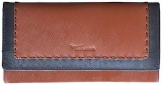Tamanna Women Leather Wallet - Tan