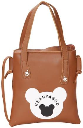 Regular Sling Bag ( Tan )