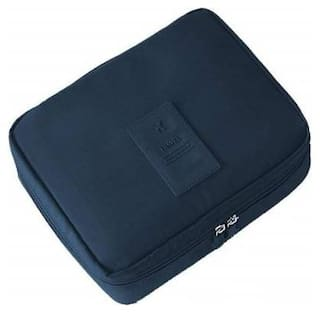 Techtest Portable Waterproof Multi Pouch Travel Toiletry Cosmetic Makeup Case Storage Bag, Toiletry bag Blue