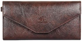 The Clownfish Dyna Womens Wallet (Maroon)