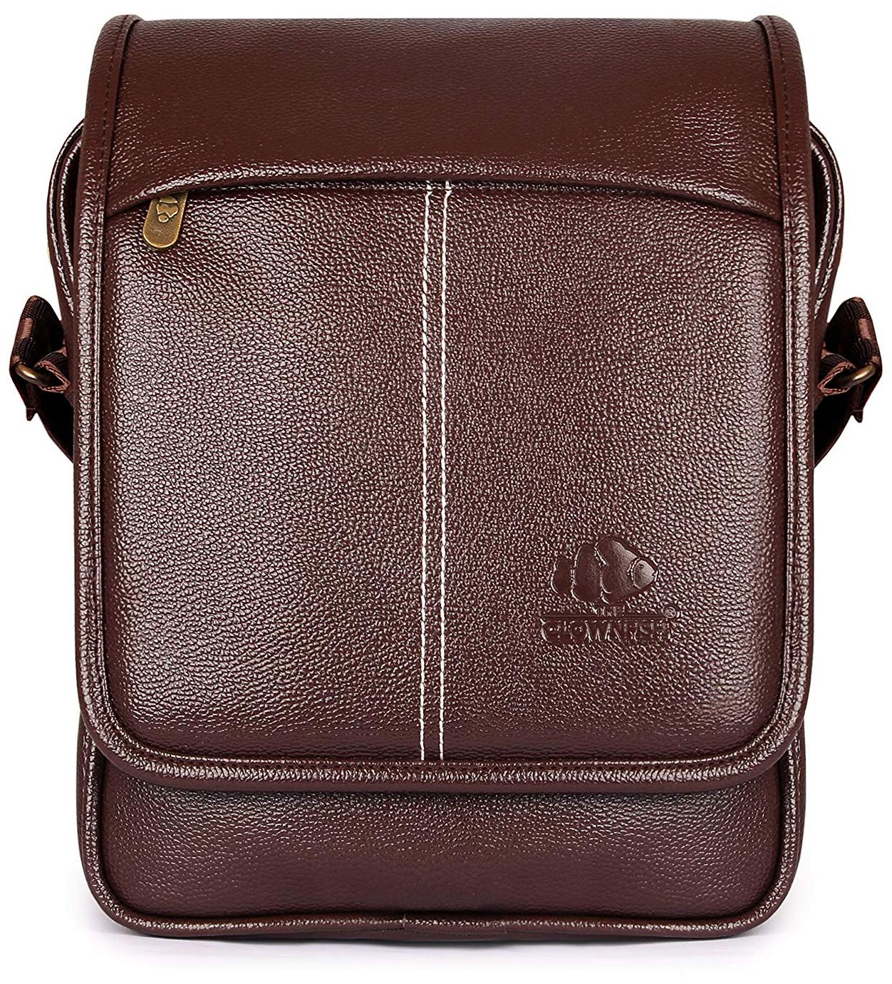 The Clownfish Sling Bags Brown by Sky Venture
