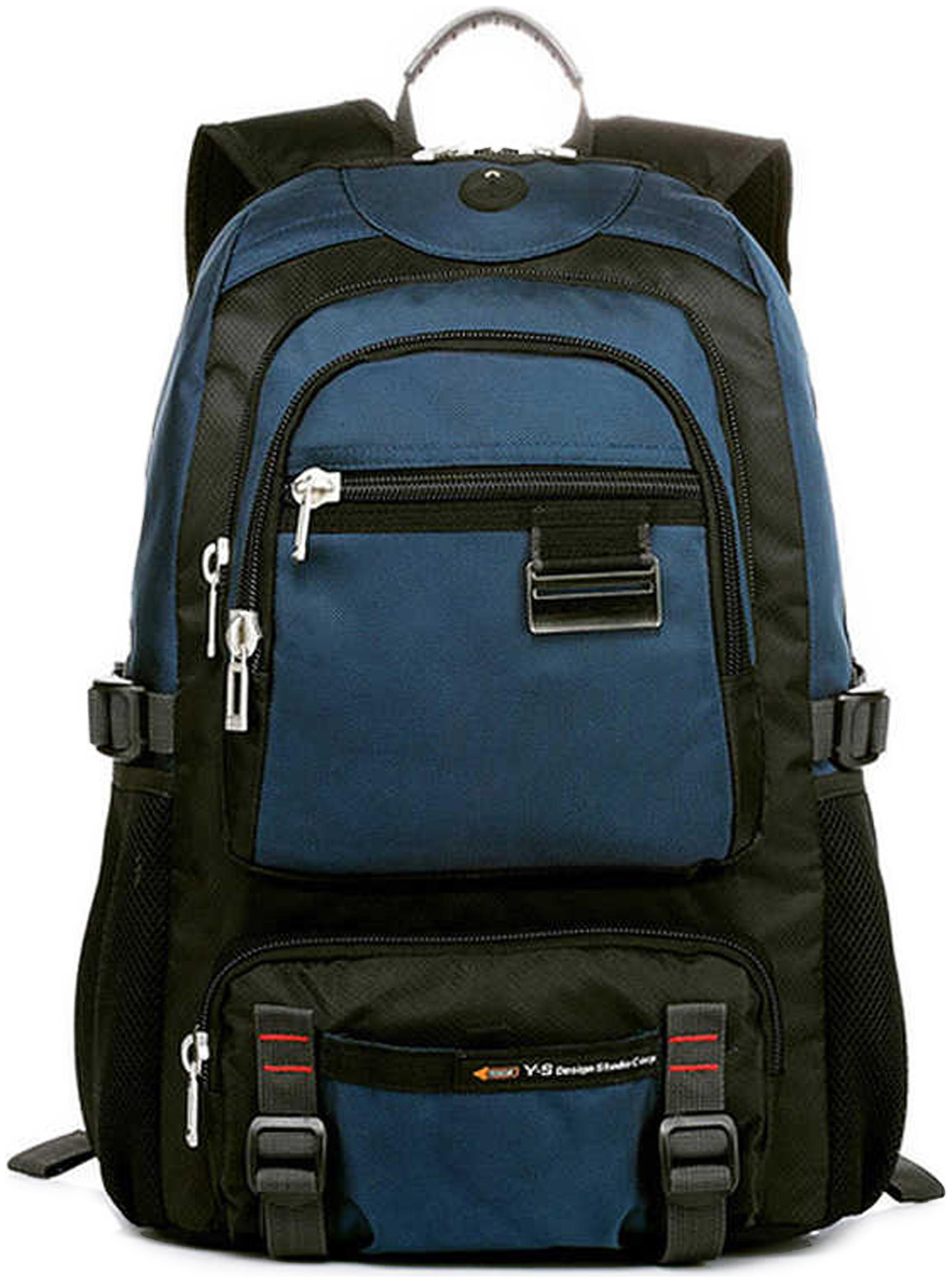 The Clownfish YESO Waterproof Polyester 20 litres Unisex Business Travel Laptop Backpack fits 15.6 inch laptops  BLUE  by Sky Venture