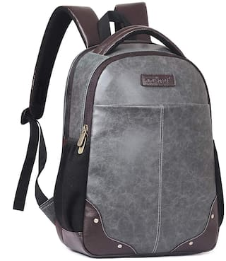 The Clownfish Marvel 28 L Mature Backpack for 15.6 inch laptops (Steel Grey) Laptop Backpack