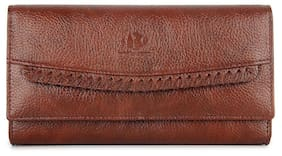 The Clownfish Women Brown Leather