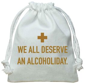 The Crazy Me We All Deserve An Alcoholiday Hangover Kit/Pouch