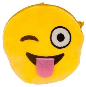 The Crazy Me Emoji LOL Pouch (Small) Set of 2