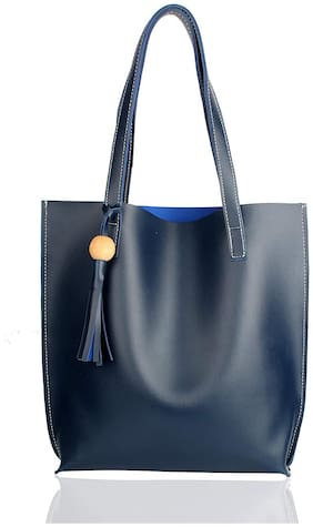 The Mini Needle Blue Tote Bag