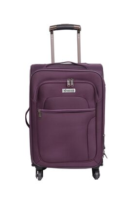 Times Bags 3TB4W24 Purple Expandable Check-in Luggage - 24 inch