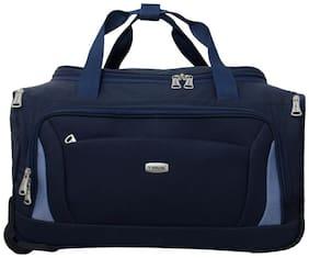 TIMUS MOROCCO BLUE 2 WHEEL DUFFLE TROLLEY BAG FOR TRAVEL