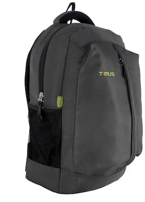 TIMUS Grey Waterproof Polyester Backpack