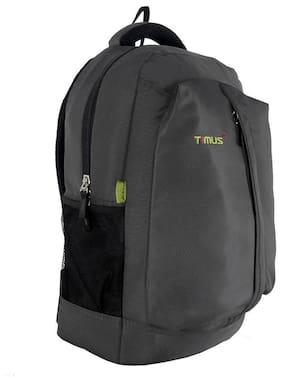 TIMUS EXPERT 19CM GREY LAPTOP BACKPACK FOR TRAVEL - SB