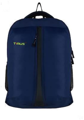 TIMUS Blue Waterproof Polyester Backpack