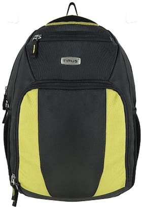 TIMUS Yellow Waterproof Polyester Backpack