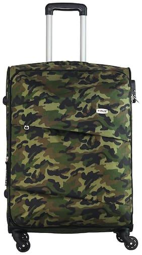 TIMUS Medium Size Soft Luggage Bag - Green , 4 Wheels