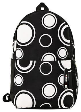 TIMUS Black Waterproof Polyester Backpack