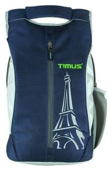 TIMUS Blue Polyester Backpack