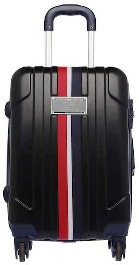 Tommy Hilfiger Lochwood Pro Cabin Size Hard Luggage Bag ( Black , 4 Wheels )