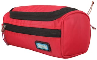 Buy TRAVALATE Men Canvas Toiletry Bag - Red Online at Low Prices in ... a5c2e929d583a