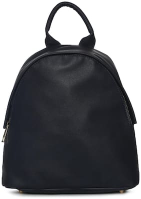 Truffle Collection Blue PU Backpack