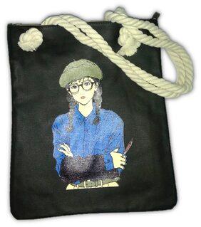 TURT & TORT Women Printed Pu - Tote Bag Black