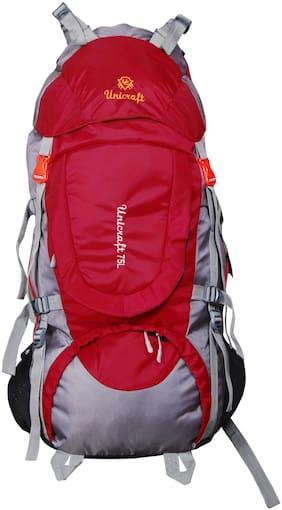 UC UNICRAft Rucksack 75 L Waterproof Rucksack Dynamic;Gear up;Travelling Hiking Camping Trekking -UC-3304(Mehroon)
