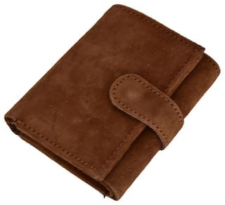 Umiko Unisex Brown Leather Wallet
