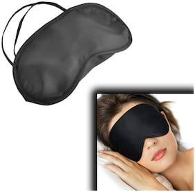 Unisex Adjustable elastic strap Travel Sleep Rest Relax stress-free Sleeping Soft  Aid Mask Eye Shade Cover Comfort Blindfold pack of 1