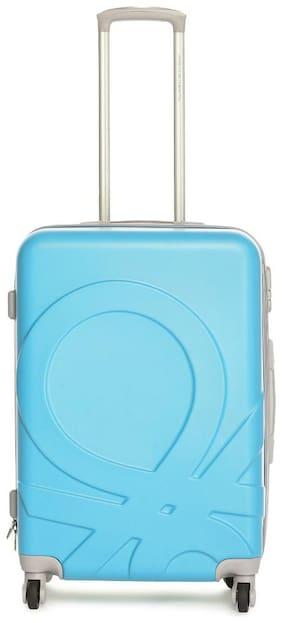 United Colors Of Benetton Cabin Size Hard Luggage Bag ( Multi , 4 Wheels )