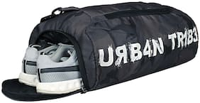 Urban Tribe Polyester Men Gym bag - Green