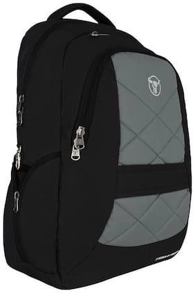 "Urban Tribe Jumbo 17.3"" Black-Grey Laptop Backpack with Elaborate Organiser"