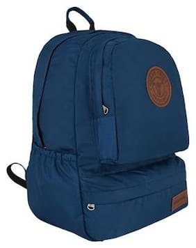 Urban Tribe Blue Polyester Backpack